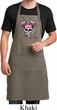Bikers Against Breast Cancer Full Length Apron with Pockets