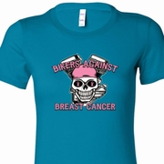 Bikers Against Breast Cancer Ladies Shirts