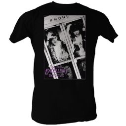 Bill And Ted Shirt Bill And Ted Phone Booth Black Tee T-Shirt