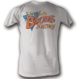 Bill And Ted Shirt Bogus White Tee T-Shirt