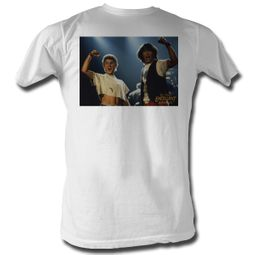 Bill And Ted Shirt Picture White Tee T-Shirt