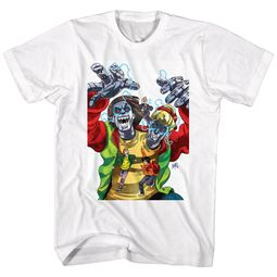 Bill And Ted Shirt Robot Dudes White T-Shirt