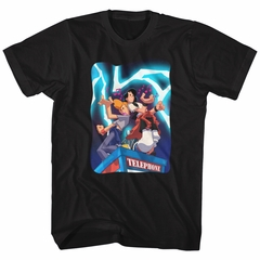 Bill And Ted Shirt Telephone Tunes Black T-Shirt