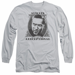 Billions Long Sleeve Shirt Axeceptional Silver Tee T-Shirt