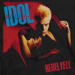 Billy Idol Rebel Yell Black Shirts