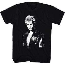 Billy Idol Shirt Portrait Black T-Shirt