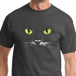 Black Cat Mens Halloween Shirts