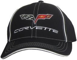 Chevy Corvette Hat - C6 Fine Embroidered Fitted Vette Cap