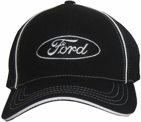 Ford Hat - Logo Fitted Flexfit Embroidered Adjustable Cap