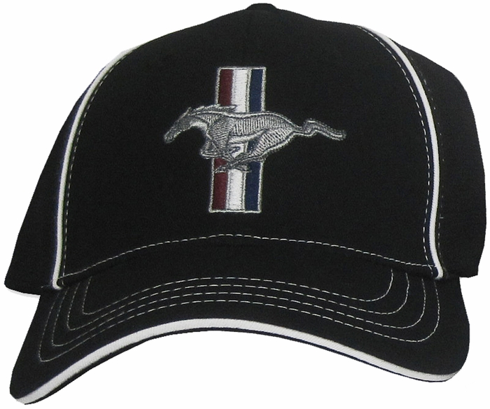 7abfaa395bdd0 Ford Mustang GT Hat - Fitted Flexfit Fine Embroidered Cap - Ford ...