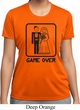 Black Game Over Ladies Moisture Wicking Shirt