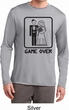 Black Game Over Mens Dry Wicking Long Sleeve Shirt