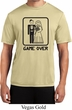 Black Game Over Mens Moisture Wicking Shirt