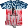 Black Game Over Patriotic Tie Dye Shirt