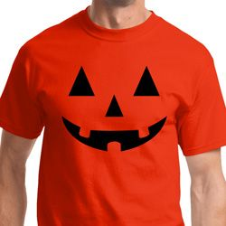 Black Jack O Lantern Mens Halloween Shirts