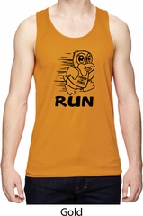 Black Penguin Power Run Mens Moisture Wicking Tanktop