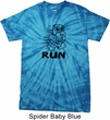 Black Penguin Power Run Spider Tie Dye Shirt