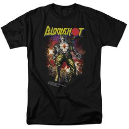 Bloodshot Shirt Comic Black T-Shirt