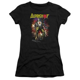 Bloodshot Shirt Juniors Comic Black T-Shirt