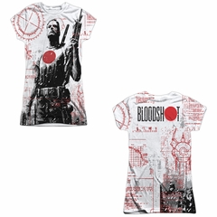 Bloodshot Shirt Tech Sublimation Juniors Shirt