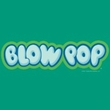 Blow Pop Kids T-Shirts - Blow Pop Logo Kelly Green Tee Youth