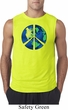 Blue Earth Peace Mens Sleeveless Shirt
