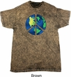 Blue Earth Peace Mineral Tie Dye Shirt