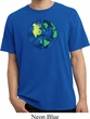 Blue Earth Peace Pigment Dyed Shirt