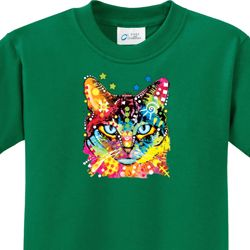 Blue Eyes Cat Kids Shirts