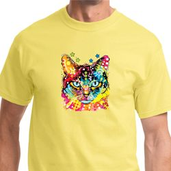 Blue Eyes Cat Mens Shirts