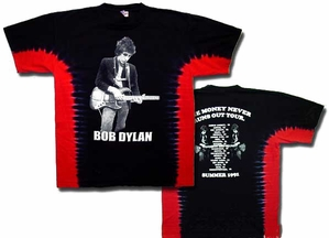 Bob Dylan T-shirt - Money Tour Tee Shirt