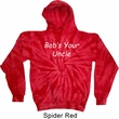 Bob's Your Uncle Funny Tie Dye Hoodie