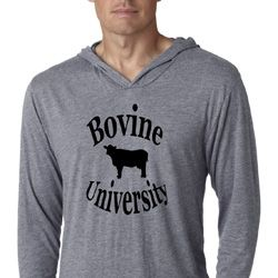 Bovine University Lightweight Hoodie Shirt