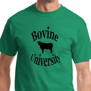 Bovine University Mens Funny Shirts