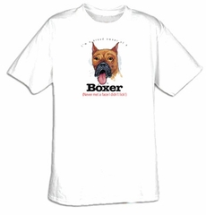 Boxer T-shirt I'm a Proud Owner of a Boxer Tee
