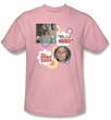Brady Bunch Marcia T-shirt - Oh, My Nose! Adult Pink Tee Shirt