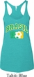 Brasil Ladies Tri Blend Racerback Tank Top