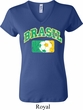 Brasil Ladies V-neck Shirt