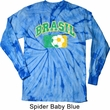Brasil Long Sleeve Tie Dye Shirt