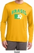Brasil Mens Dry Wicking Long Sleeve Shirt