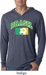 Brasil Mens Hooded Shirt