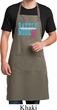 Breast Cancer Awareness Battle Mode Full Length Apron with Pockets