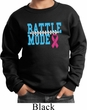 Breast Cancer Awareness Battle Mode Kids Sweat Shirt