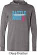 Breast Cancer Awareness Battle Mode Lightweight Hoodie Tee