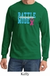 Breast Cancer Awareness Battle Mode Long Sleeve Shirt