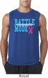 Breast Cancer Awareness Battle Mode Mens Sleeveless Shirt