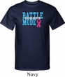 Breast Cancer Awareness Battle Mode Mens Tall Shirt