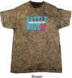 Breast Cancer Awareness Battle Mode Mineral Tie Dye Shirt