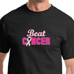 Breast Cancer Awareness Beat Cancer Mens Shirts
