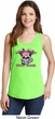 Breast Cancer Awareness Bikers Against Breast Cancer Ladies Tank Top